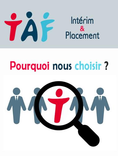 Choisir TAF Intérim & Placement